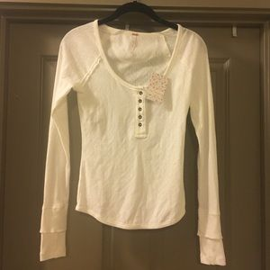 Free People NWT Henley